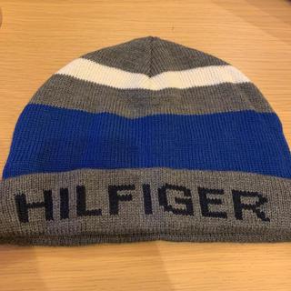 トミーヒルフィガー(TOMMY HILFIGER)のtommy hilfiger メンズ ニット帽(ニット帽/ビーニー)
