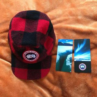 カナダグース(CANADA GOOSE)のカナダグース帽子(キャップ)