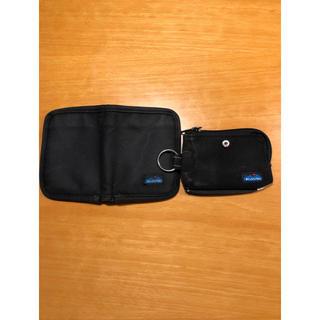 カブー(KAVU)の(*☻-☻*)KAVU 財布&ネイビープリントロンT(折り財布)