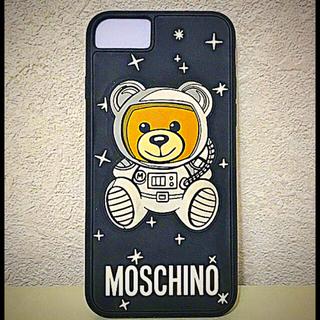 60e6f1791e モスキーノ(MOSCHINO)のMOSCHINOテディベア宇宙飛行士iPhone7.8ケース(iPhone