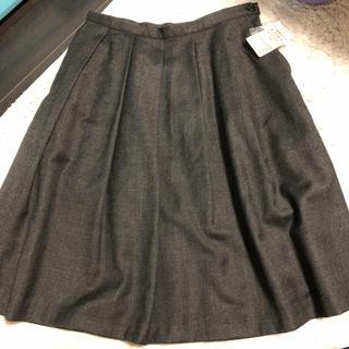 ムジルシリョウヒン(MUJI (無印良品))のウールタックスカート(ひざ丈スカート)