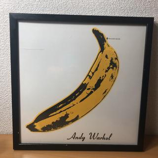 アンディウォーホル(Andy Warhol)のレコード 額縁付き(絵画額縁)