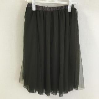 ドールアップウップス(doll up oops)のチュールスカート(ひざ丈スカート)