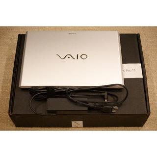 ソニー(SONY)の【美品】SONY VAIO Pro11(SVP1121A2J)(ノートPC)