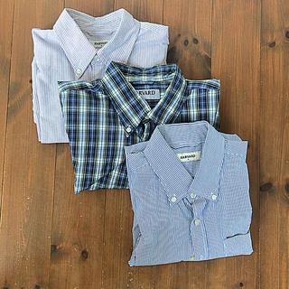 ハーヴァード(HARVARD)のHarvard ワイシャツ Mサイズ 3枚セット(シャツ)