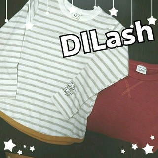 二枚セット!DILash★男の子トップス