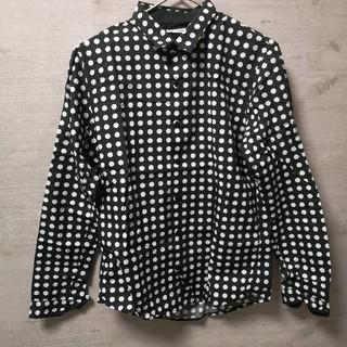 GU - メンズドットシャツ