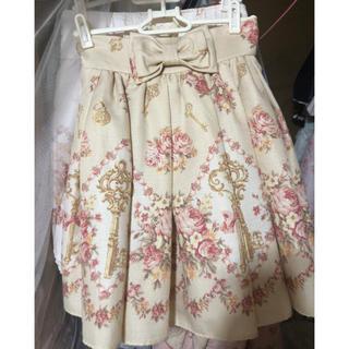 リズリサ(LIZ LISA)のLIZ LISA スカート 鍵柄(ミニスカート)