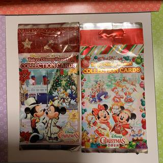 ディズニー(Disney)のディズニー35周年   クリスマス   コレクションカード2種(カード)