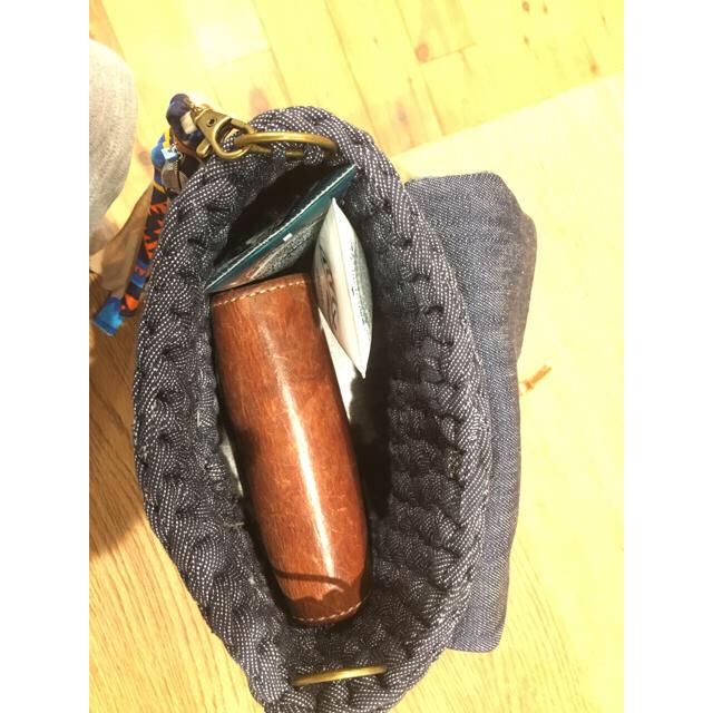 オルテガ ネイティブ リメイク デニム ズパゲッティ ショルダーバッグ レディースのバッグ(ショルダーバッグ)の商品写真