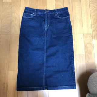 ムジルシリョウヒン(MUJI (無印良品))の無印 デニムスカート(ひざ丈スカート)