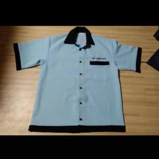 シュガーケーン(Sugar Cane)のボーリングシャツ ペパーミントグリーン ロカビリー 706union(シャツ)