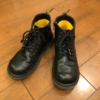 ハンテン(HANG TEN)のハンテン HANG TEN レースアップブーツ 22cm ブラック(ブーツ)