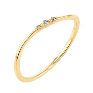 ブルーム(BLOOM)のESTELLE エステール K10 イエローゴールド ダイヤモンドリング(リング(指輪))