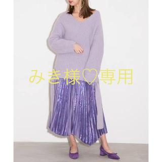 フレイアイディー(FRAY I.D)のフレイアイディー♡今期♡プリーツスカート(ロングスカート)