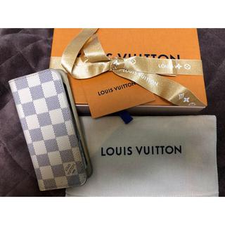 ルイヴィトン(LOUIS VUITTON)のダミエ iphone ケース【専用です】(モバイルケース/カバー)