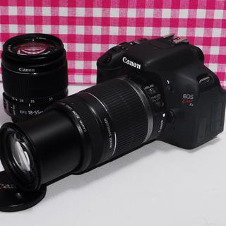 キヤノン(Canon)の❤️思い出を形に❤️Canon Kiss x5 大迫力のダブルズーム・手ぶれ補正(デジタル一眼)