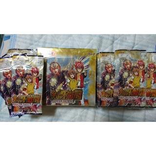未サーチ 新品未開封 3BOX分 98パック ヴァンガードG 剣牙激闘 セット