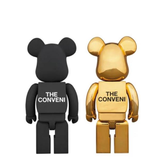 FRAGMENT(フラグメント)のTHE CONVENI × fragmentdesign BE@RBRICK  エンタメ/ホビーのおもちゃ/ぬいぐるみ(キャラクターグッズ)の商品写真