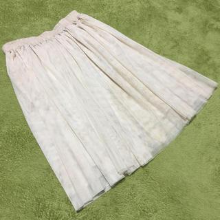 サルース(salus)のチュールスカート sales サルース M(ひざ丈スカート)