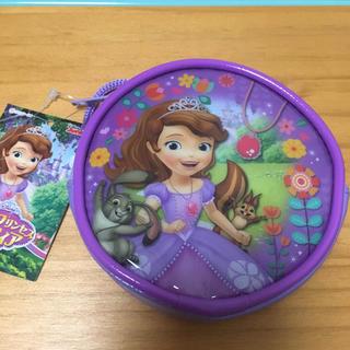 ディズニー(Disney)のディズニー ちいさなプリンセスソフィア 丸形ネックポーチ(その他)