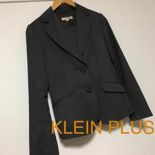 クランプリュス(KLEIN PLUS)のKLEIN PLUS パンツ スーツ ジャケット 38 セットアップ グレー(スーツ)