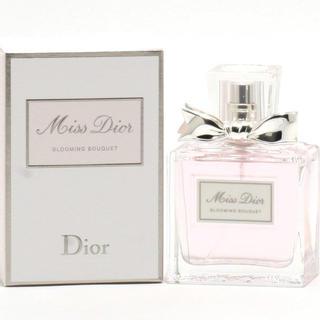 クリスチャンディオール(Christian Dior)のミスディオール ブルーミングアブーケ50ml美品未使用(香水(女性用))