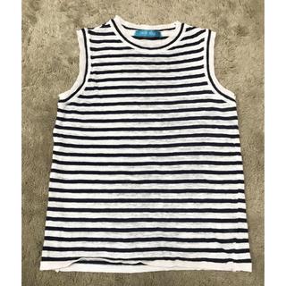 アンティックラグ(antic rag)のボーダー トップス(Tシャツ(半袖/袖なし))