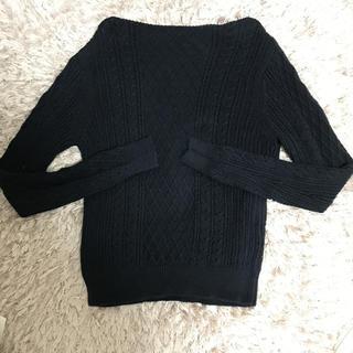 ムジルシリョウヒン(MUJI (無印良品))の無印 ケーブル編みニット(ニット/セーター)