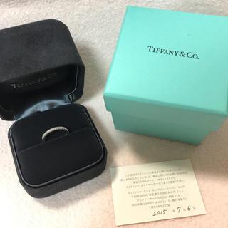 ティファニー(Tiffany & Co.)のTiffany & Co. ハーフエタニティ プラチナ 6号(リング(指輪))