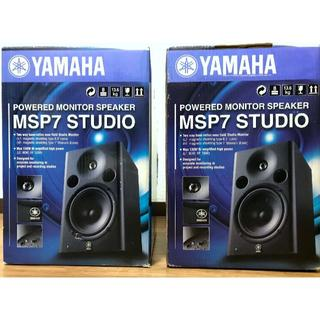 YAMAHAのMSP7 STUDIO ペア 美品(スピーカー)