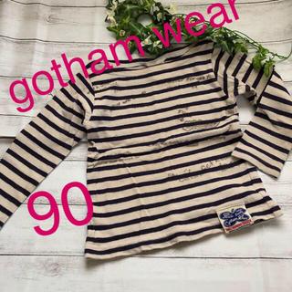 ゴッサム(GOTHAM)の☆gotham wear❣️ボートネック ボーダーTシャツ(Tシャツ/カットソー)