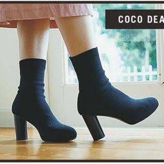 ココディール(COCO DEAL)のCOCO DEAL ソックスブーツ(ブーツ)