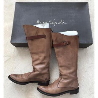 エンリーべグリン(HENRY BEGUELIN)の【エンリーベグリン】イタリア本店購入 ロングブーツ 37(ブーツ)