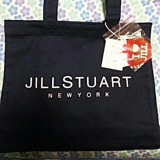 ジルスチュアートニューヨーク(JILLSTUART NEWYORK)の送料込【未使用】JILL STUART トートバッグ ネイビー(トートバッグ)