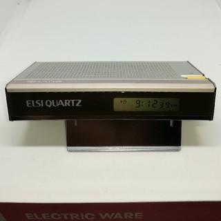 シャープ(SHARP)の1979年製!音声式携帯目覚し時計(腕時計(デジタル))