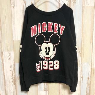 ディズニー(Disney)の【送料込み】【フォロー割】アメリカ古着 ミッキー 長袖 Tシャツ ディズニー(Tシャツ(長袖/七分))