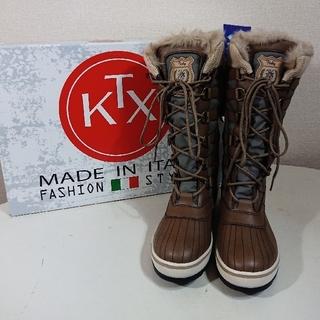キンバーテックス(KIMBERTEX)の【23cm】KTX-TEX キンバーテックス/JADE/スノーブーツ/グレー(ブーツ)
