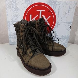 キンバーテックス(KIMBERTEX)の【24cm】KTX-TEX キンバーテックス/MAKO/スノーブーツ/KHAKI(ブーツ)