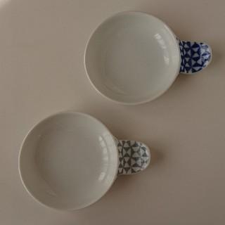 ハサミ(HASAMI)の箸置き付き豆皿 2枚セット 波佐見焼き 和山 かわいい おしゃれ 大人気(食器)