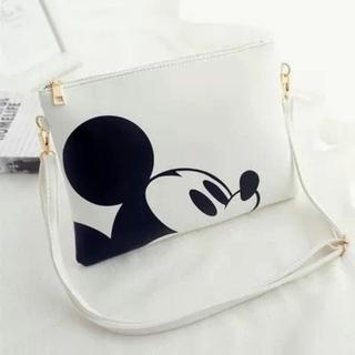 ディズニー(Disney)の★ラスト1品!! ◆ミッキーマウス クラッチバッグ ショルダーバッグ 2way(クラッチバッグ)