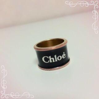 クロエ(Chloe)のchloe ロゴリング(リング(指輪))