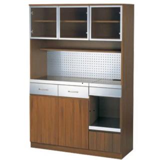ウニコ(unico)の食器棚 unico STRADA キッチンボード W1200 (キッチン収納)