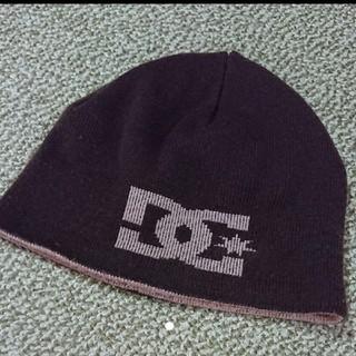 ディーシーシュー(DC SHOE)の90s リバーシブル ニット帽(ニット帽/ビーニー)