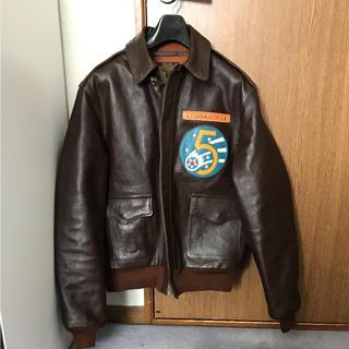 ザリアルマッコイズ(THE REAL McCOY'S)のレザージャケット a-2 トイズマッコイ  バズリクソンズ  (フライトジャケット)