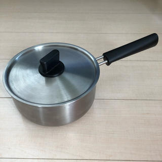 ムジルシリョウヒン(MUJI (無印良品))の【無印良品】18センチ片手鍋(鍋/フライパン)