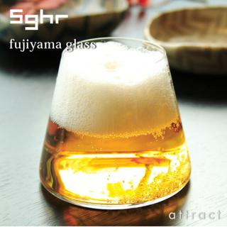 スガハラ(Sghr)の★未使用品★【sghr】木箱付き 富士山グラス(グラス/カップ)