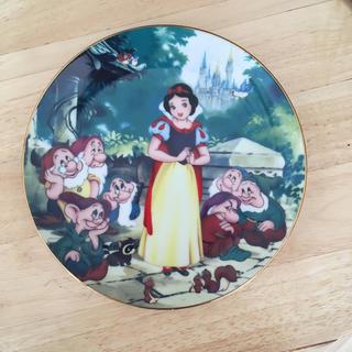 ディズニー(Disney)の白雪姫と七人の小人 飾り皿 プレート(置物)