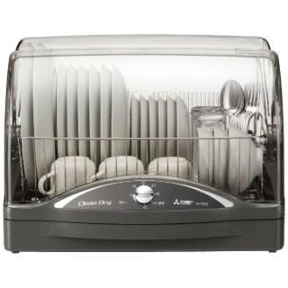 ミツビシ(三菱)の新品未開封 食器乾燥機 三菱キッチンドライヤー kt-st11-h グレー(食器洗い機/乾燥機)