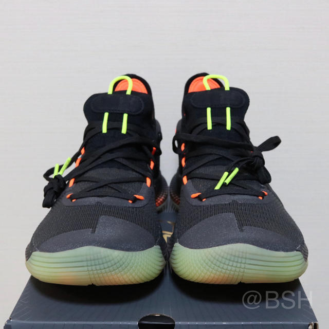 newest 19ad1 bd378 Under Armour Curry 6 'FOX THEATER' 26cm